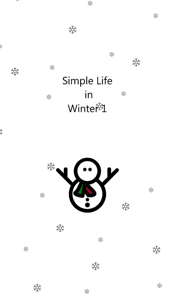 Simple Life in Winter 1